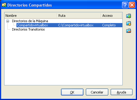 virtualbox Compartir Disco1